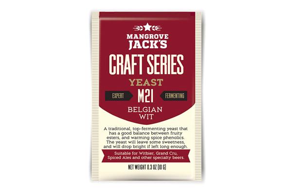 Дрожжи пивные Mangrove Jack's Wit M21