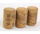Винные пробки корковые 23*35 мм (Португалия агломирированная с лого PIE) 1300 шт